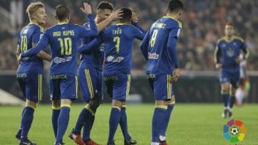 «Валенсия» крупно уступила «Сельте» в первом матче 1/8 финала Кубка Испании