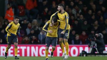 «Арсенал» чудом спасся от поражения в игре с «Борнмутом»