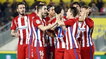 «Атлетико» победил «Лас-Пальмас» в первом матче 1/8 финала Кубка Испании