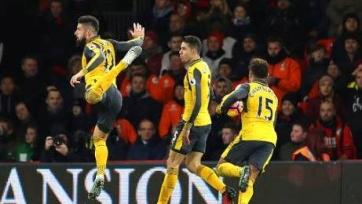 Болельщики «Арсенала» возмущены тем, как Жиру отпраздновал вчерашний гол
