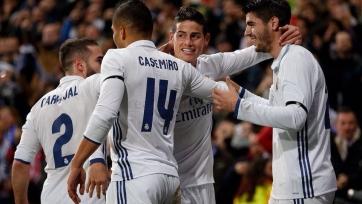 Мадридский «Реал» переиграл «Севилью» с крупным счётом