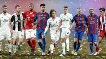 УЕФА представил символическую сборную 2016-го года