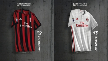В Сети появились первые изображения новой футболки «Милана»