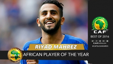 Рияд Марез – лучший игрок Африки в 2016-м году