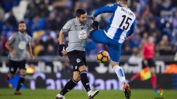 «Эспаньол» и «Депортиво» поделили очки в первом матче семнадцатого тура Примеры