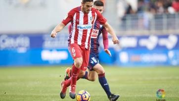 «Атлетико» переиграл в гостях «Эйбар»