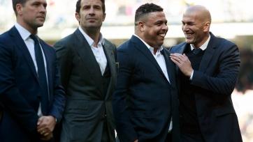 Роналдо призвал «Реал» сделать требл