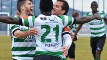 В матче второй португальской лиги команде забили, пока её игроки праздновали незасчитанный гол (видео)