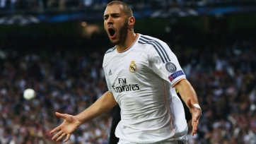 Карим Бензема вышел на восьмое место среди лучших бомбардиров в истории «Реала»