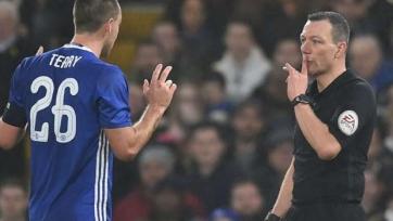 «Челси» оспорит красную карточку Джона Терри в Апелляционном суде