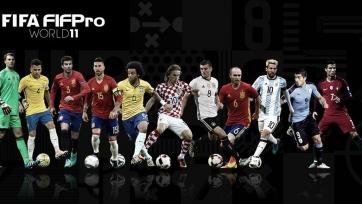 Символическая сборная-2016 по версии ФИФА