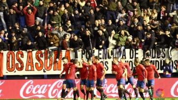 «Осасуна» ушла от поражения в матче с «Валенсией»