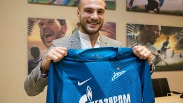 Официально: Молло – футболист «Зенита»