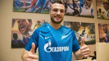 Молло дал первое интервью в качестве игрока «Зенита»