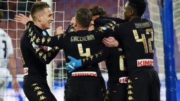 «Наполи» расправился со «Специей» и прошёл в ¼ финала Кубка Италии