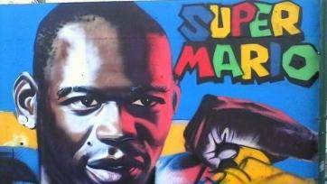 Французские болельщики нарисовали большое граффити в Ницце в честь Марио Балотелли
