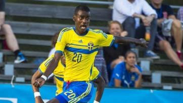 Александер Исак стал самым молодым автором гола в истории сборной Швеции