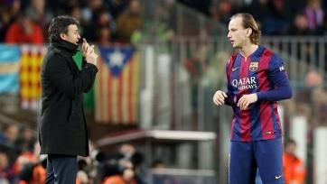 Ракитич уйдёт из «Барселоны», если команду продолжит тренировать Луис Энрике