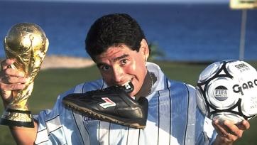 Марадона ведёт переговоры о работе в «Наполи»