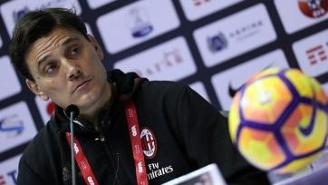 Монтелла пообщался с прессой накануне игры с «Торино»