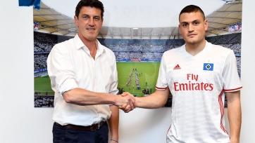 Пападопулос продолжит карьеру в «Гамбурге»
