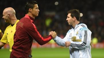 Месси считает Роналду великим футболистом
