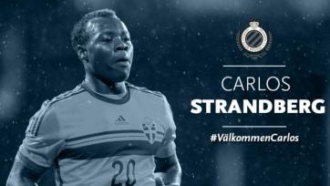 «Брюгге» отправил Страндберга в аренду в другой бельгийский клуб
