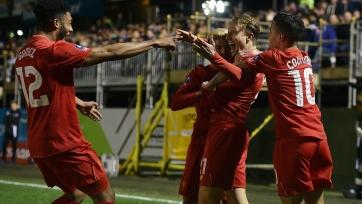 «Ливерпуль» обыграл «Плимут» и пробился в 1/16 финала Кубка Англии