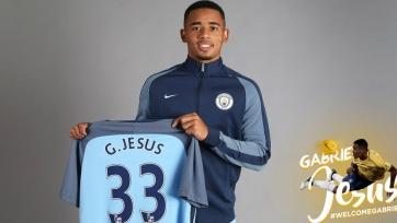 Официально: «Манчестер Сити» представил Габриэля Жезуса