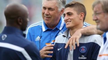 Анчелотти: «Верратти будет играть за ПСЖ долгие годы»