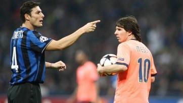 Милито: «Только Санетти может убедить Месси перейти в «Интер»