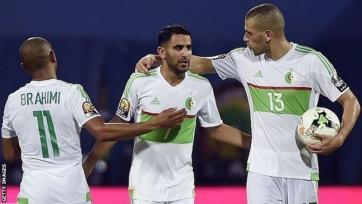 Тунис добывает победу в матче против Алжира