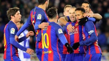«Барселона» сумела победить на «Аноэте»