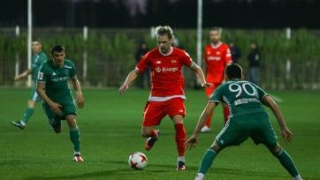 «Терек» забил три гола «Лехии», но всё равно проиграл