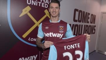 Официально: Жозе Фонте стал игроком «Вест Хэма»