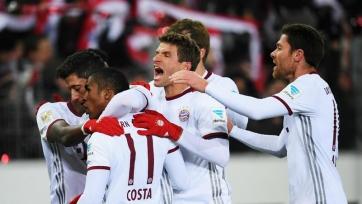 «Бавария» выиграла первый круг Бундеслиги в 22-й раз