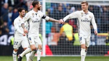 Дубль Рамоса принёс «Реалу» три очка в игре с «Малагой»
