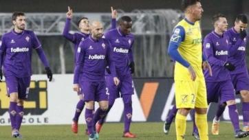 «Фиорентина» забила три безответных мяча «Кьево» в Вероне