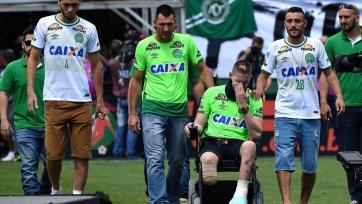 «Шапекоэнсе» провёл свой первый матч после авиакатастрофы, сыграв вничью с «Палмейрасом»