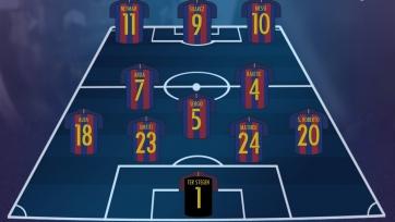«Эйбар» - «Барселона», прямая онлайн-трансляция. Стартовый состав «Барсы»