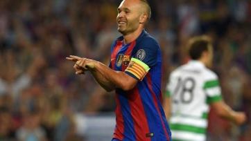 «Барселона» предлагает Иньесте контракт до окончания карьеры