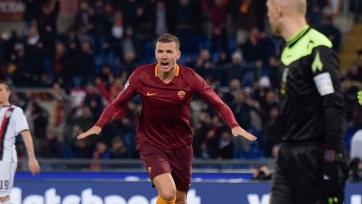 «Рома» с минимальным счётом переиграла «Кальяри»