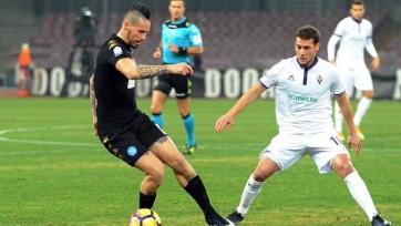 «Наполи» обыграл «Фиорентину» и пробился в полуфинал Коппа де Италия