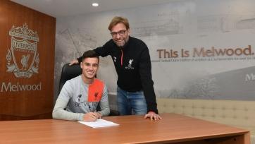 Официально: Филиппе Коутиньо подписал новый контракт с «Ливерпулем»
