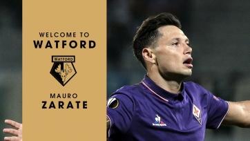 Официально: Мауро Сарате перешёл в «Уотфорд»