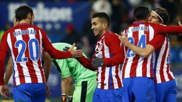 «Атлетико» прошёл в полуфинал Кубка Испании
