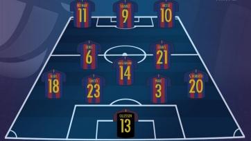 «Барселона» - «Реал Сосьедад», прямая онлайн-трансляция. Стартовый состав «Барсы»