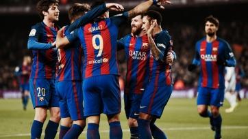 «Барселона» забила пять мячей «Реал Сосьедаду»