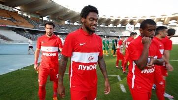 Адриано: «Здорово, что удалось забить уже в первом матче за «Спартак»