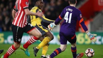 «Арсенал» вышел в 1/8 финала Кубка Англии, разгромив в гостях «Саутгемптон»